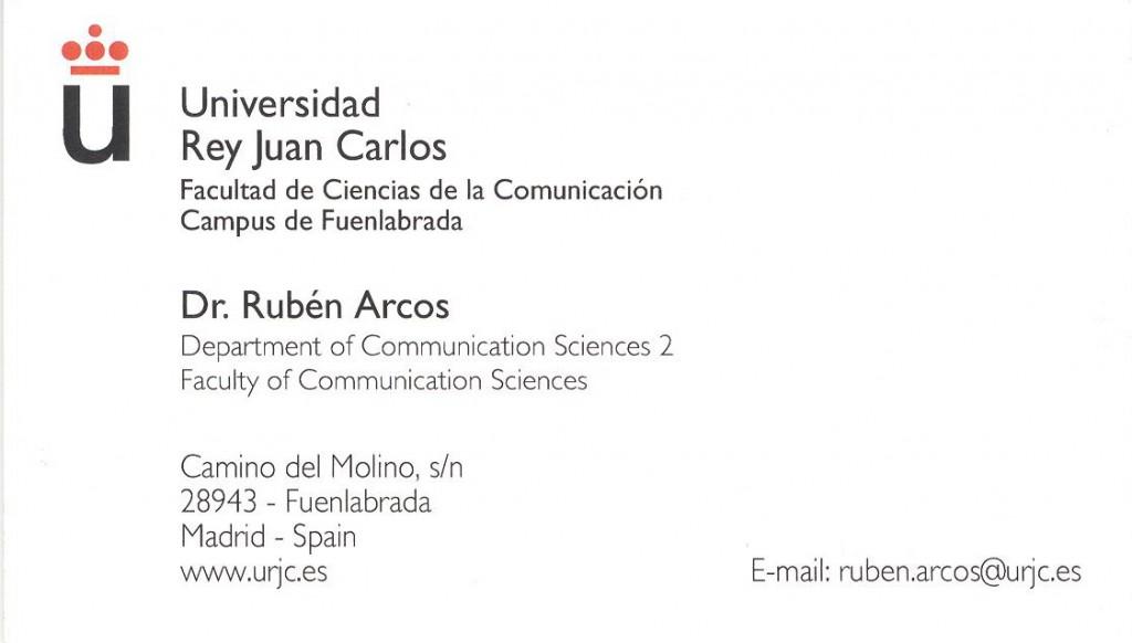 Ruben's Card